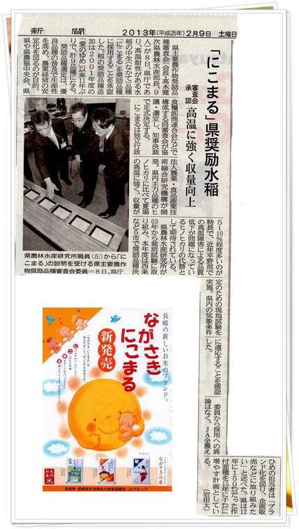 愛媛新聞 2013.02.09