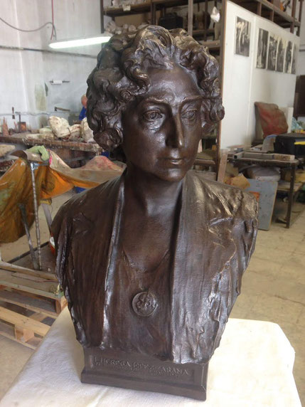 Escultor: Mariano Benliure, pieza fundida en bronce a partir de nuestro modelo (a partir de archivo 3D scan)