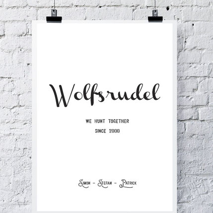 Wolfsrudel - ab 7,99€