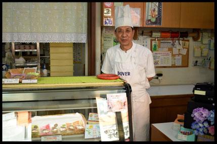 ケーキの店『のぐち』の店内写真