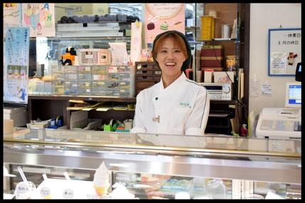 ケーキハウス『ニルス』の店内写真