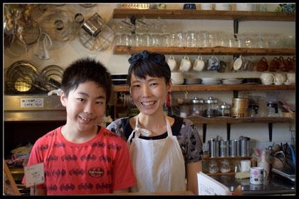 チマカフェの店内写真