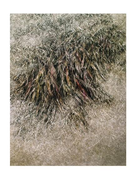 Broken Flowers II 2015 Kunstharz, Steinmehl, Acrylfarbe, Ölfarbe auf Leinwand  210 x 160 cm