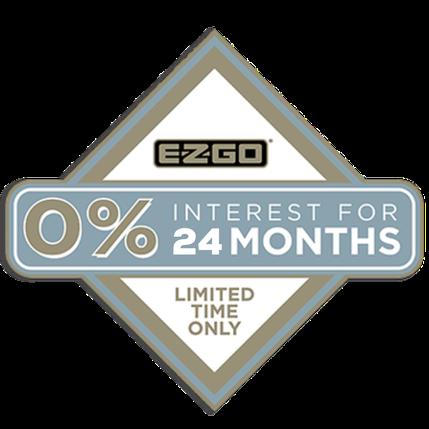 0% INTEREST FOR 24 MONTHS E-Z-GO