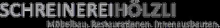 Schreinerei Hölzli  Möbelbau - Restaurationen - Innenausbau