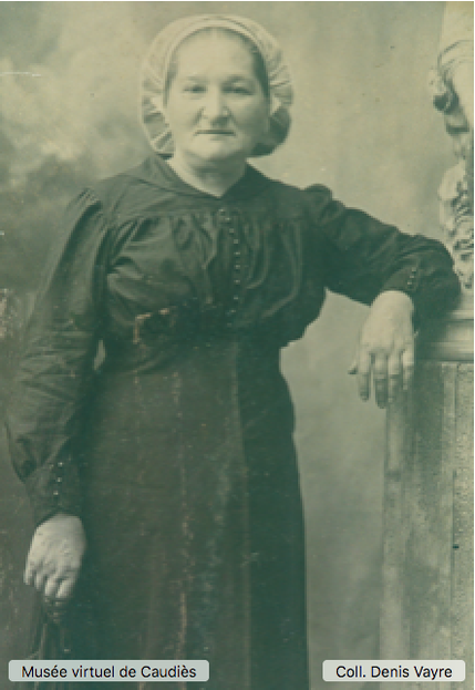 Anna Raspaud (1865-1935), épouse de Gaston Vayre, grand-mère de Georges.