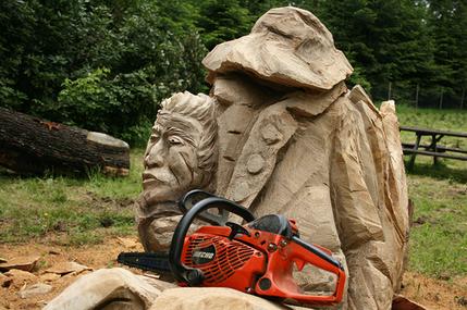 ECHO Carvingmotorsäge