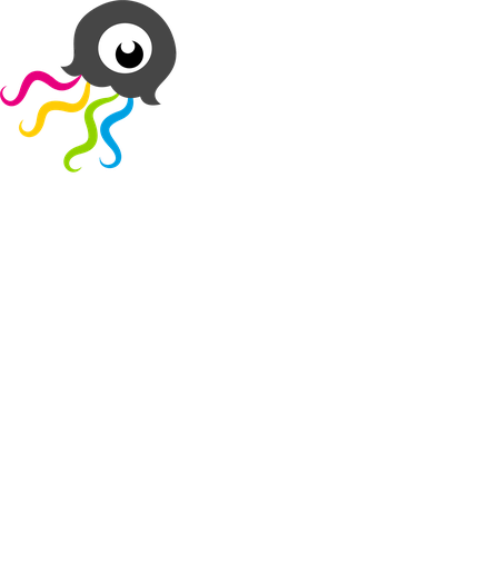 Grafik, Qualle, luminazing, luminzing artstyle and amazing ideas