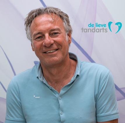 Oprichter platform De Lieve Tandarts, Jan Henk Nawijn - foto augustus 2019