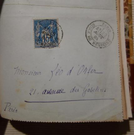 Laurent Tailhade, Au pays du Mufle, 1891, livre rare, édition originale, lettre autographe signée à  Léo d'Orfer