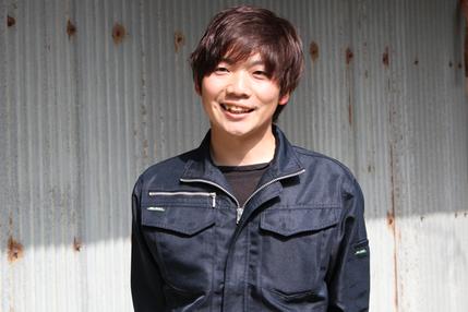 インタビューに答える瀧本慎吾氏