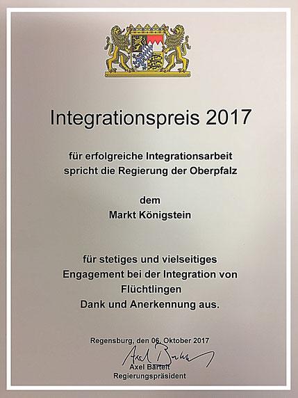 CSU Markt Königstein Klaus Hafner Regeirungspräsident Axel Bartelt Regensburg