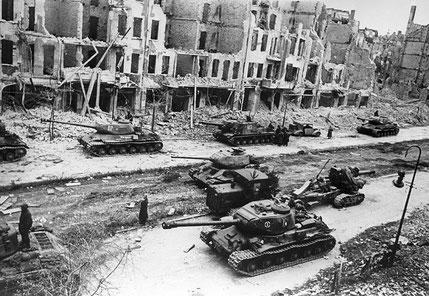 Sovjetiske tropper i Berlin