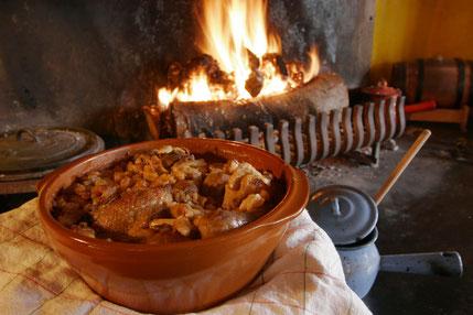 recette du cassoulet par un propriétaire marqye pays cathare