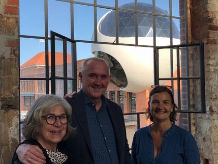 Gäste bei einem ArchitekTour Day in Leipzig