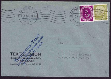 Zwangs-MiF vom 5. Juli 1954, Drucksache