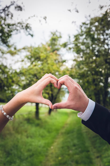 Brautpaar Wiese