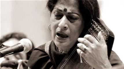 Kishori Amonkar, cantante de Khayal