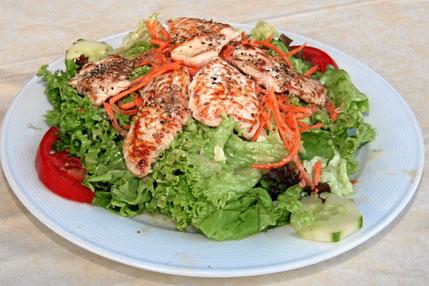 Fitnessteller Salat