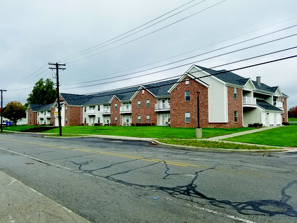 The proposed Tubbs Orchard Estates might resemble this new housing development in Kendallville, Indiana. It was built by The Woda Group Inc., which has shown interest in building 22 duplexes – 44 total rental units – on nine acres on West Summit Street.