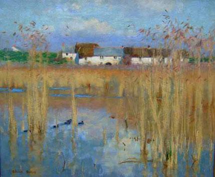 Adrian Scott Stokes  'Marazion Marshes'