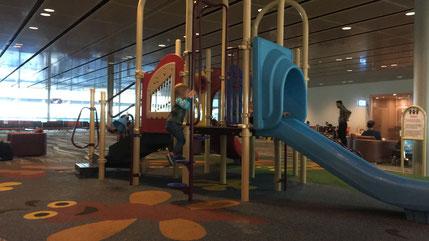 Playground at Singapore Airport