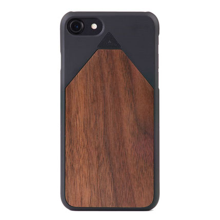 iPhone 7 case wood7 walnut wood