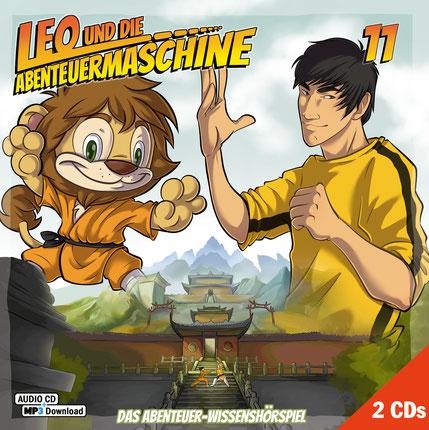 CD-Cover Leo und die Abenteuermaschine 11