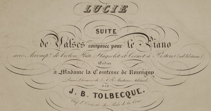 Les Pantalons - valse de J.B. Tolbecque