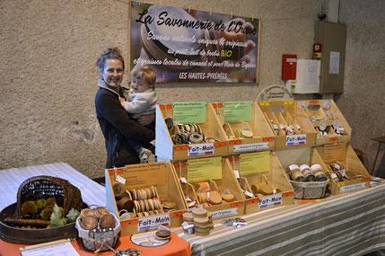 Marché_Producteurs_Sost_Barousse_Savon_Naturel_Artisanal_Savonnerie_Ourse