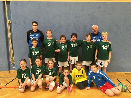 Das junge Team des Handballclubs Weiz erreichte den 6. Platz.