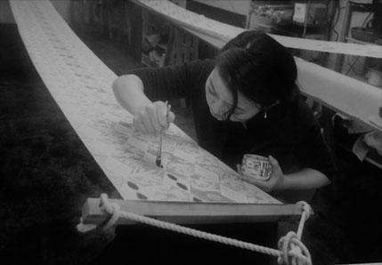 FujinoBingata/ふじのびんがた染工房の御誂え【きもの】【ワンピースdress】承ります。