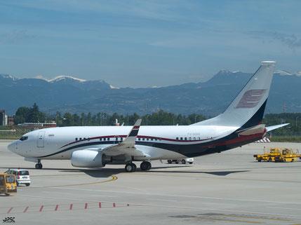 Boeing 737 Next Gen - MSN 40761 - P4-MAK - Samrussitera