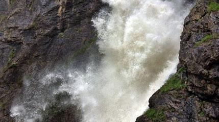 Wasserfall Holzgau Alpen E5