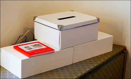 Erinnerungsnotizbuch & Erinnerungszettelbox für Ihre Erinnerungen.