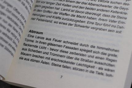 """Mark Lanvalls """"Lichtsturm III - Kellens Schwert"""""""