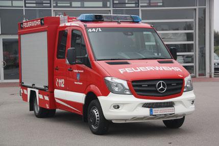 Bild: Further & Ammer     Referanzfahrzeug der Feuerwehr Wasmuthhausen (Maroldsweisach)