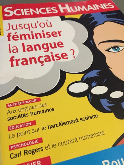 """Couverture du magazine """"Sciences Humaines"""", n° 301 - Mars 2018"""