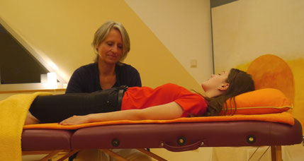 CranioSacral Yoga Therapy at INNER OCEAN Annette Voigt - Photo: Leonard Mueller