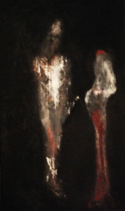 Shalom Salom Salome, Acryl auf Holz, 70x50, 2012