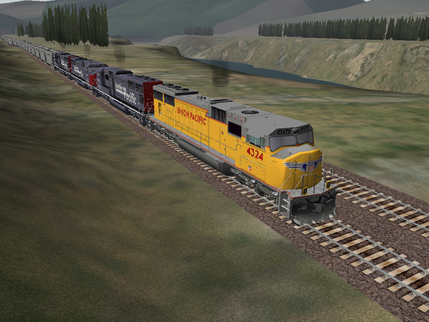 A Ride Down Memory Lane in Microsoft Train Simulator - shoot