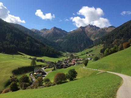 Riobianco nella Valle Aurina - Alto Adige