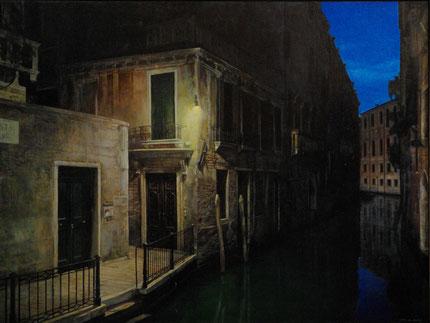 ベネツィアの物語 45x60cm 油彩