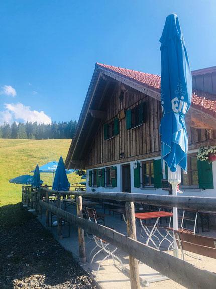 Untere Bichler Alpe in Wertach