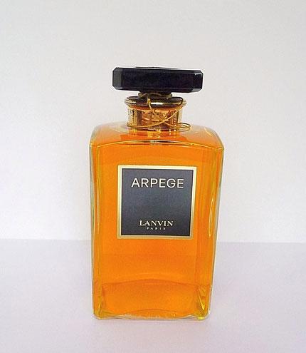 ARPEGE - FLACON FACTICE 500 ML - ETIQUETTE NOIRE