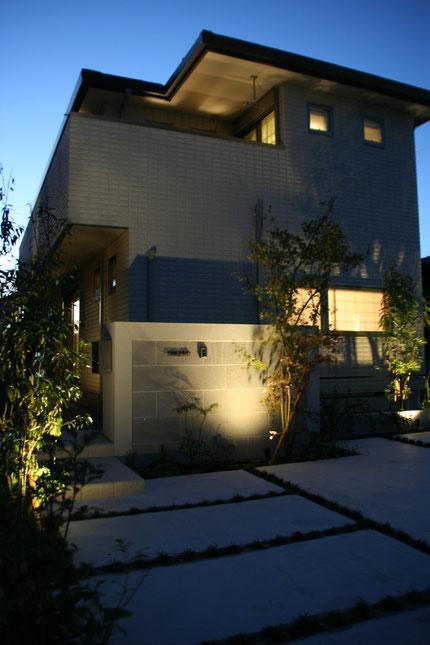 守山区 モダン 北欧風 へーベルハウス外構施工例