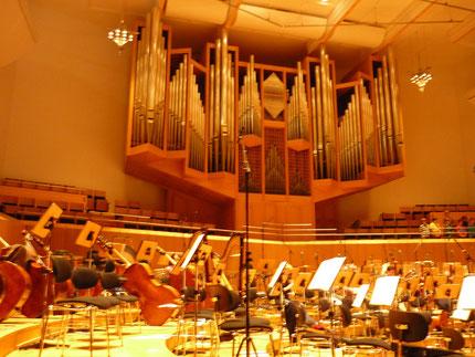 Was machen die Musiker vor dem Konzert?