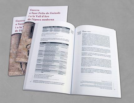 Llibre. Guerra a Sant Feliu de Guíxols i a la Vall d'Aro de l'època moderna. Interior1