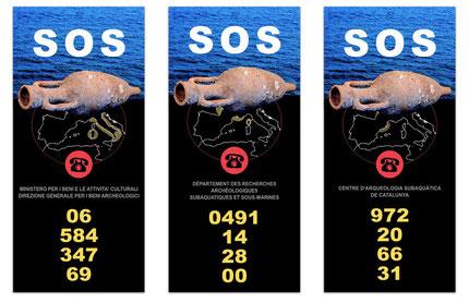 Adhesivos campaña SOS
