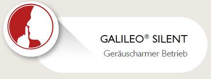 Galileo Super Silent Funktion der Galileo Vibrationshantel Galileo Mano Med 30